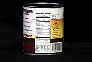 Survival Cave Food Canned Ground Beef 12 - Pk. 14 1/2 - oz. cans