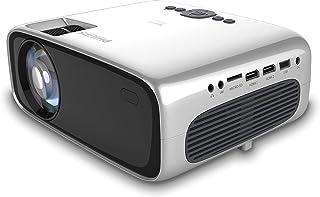 Philips Proyector de Bolsillo NeoPix Prime NPX540, LED, 3500 lúmenes LED, Full HD, WiFi, Bluetooth, Altavoz