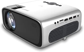 $99 » Philips NeoPix Prime Projector, Wi-Fi Screen Mirroring, Built-in Media Player