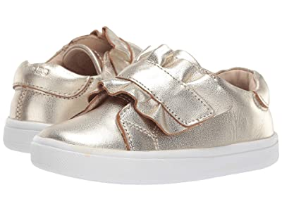Old Soles Urban Frill (Toddler/Little Kid) (Gold) Girl
