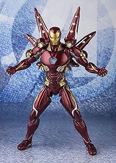 TAMASHII NATIONS Bandai S.H. Figuarts Iron Man MK-50 Nano Weapon Set 2 (Endgame Ver.)