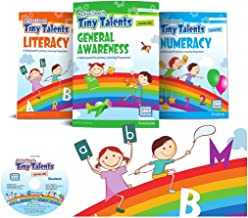 Activity Books for Kids to Practice Number, Patterns, and Shapes   Tiny Talents  3 -5years (LKG)   By Pearson