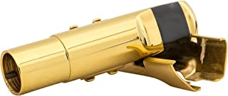 EastRock Jazz Alto Sax Professionals Gold Plated Metal Saxophone Mouthpiece Pads #5