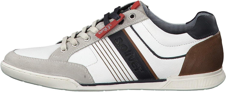 S.Oliver 13620-22 Men Trainers,Men′s Low shoes,Sports shoes,lace-up shoes