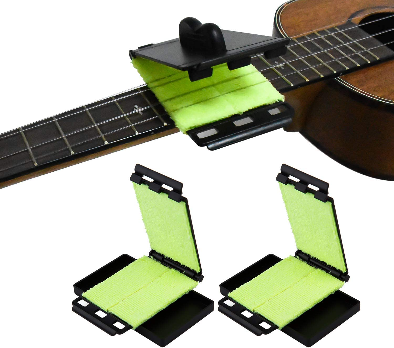 LUTER 2Pcs Pack free Guitar Fretboard String Cleaner Sale item Cleanin Scrubber