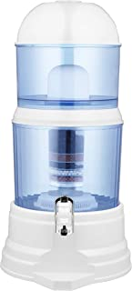 PURIFICADOR de Agua 8 Etapas con Minerales. Filtro de Cerámica. 10 LITROS. 1.5 Litros por hora. Filtrado lento y profundo.
