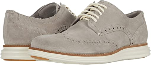 Gray Suede/Ivory