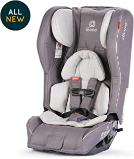 Diono Rainier 2AXT All-in-One Convertible Car Seat, Grey Oyster (Discontinued by Manufacture)