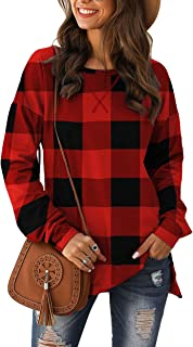 Best plaid sleeve tunic Reviews