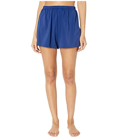 Maxine of Hollywood Swimwear Solids Separate Jogger Short Bottoms (Navy) Women