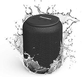 Tronsmart T6 Mini Cassa Bluetooth 15W, 24 Ore Riproduzione, Audio Stereo TWS 360°, IPX6 Impermeabile, Altoparlante Wireles...