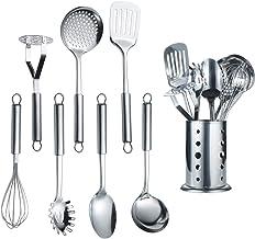Berglander Utensilio de cocina de acero inoxidable de 7