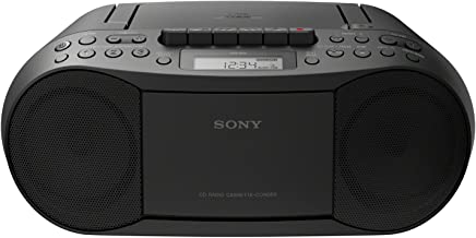 SONY CFD-S70 Portable CD Cassette Boombox (Renewed)