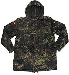 European Military German Army (Bundeswehr) Flecktarn Parka