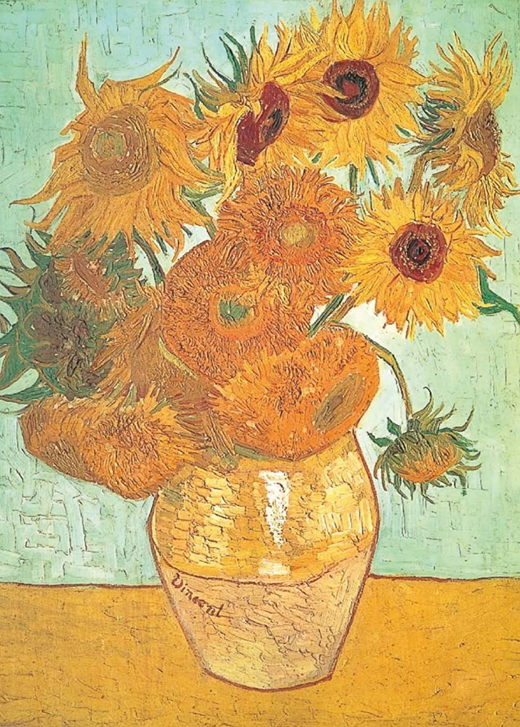 Sunflower 10568 of 12 this master piece of 1000  Puzzle Aim (japan import)