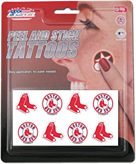 Best red sox face tattoos Reviews