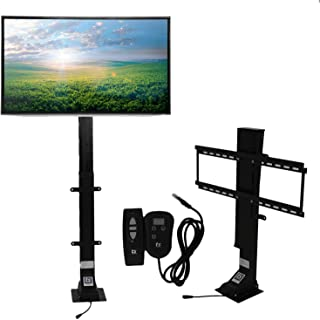 "Touchstone Valueline 30004 Motorized TV Lift with Remote Control for Large Screen 32-70 inch TVs, 36"" Height Adjust, 170 lb. Capacity, Height Memory, Flat-Lid Mount, RF & Wired Remote"