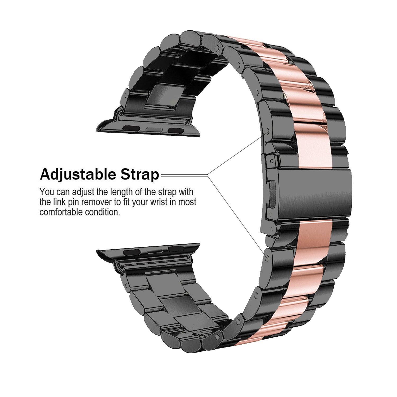 Rosa Schleife Apple Watch Strap