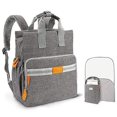 TUMAMA Diaper Bag Backpack, Multifunction Water...