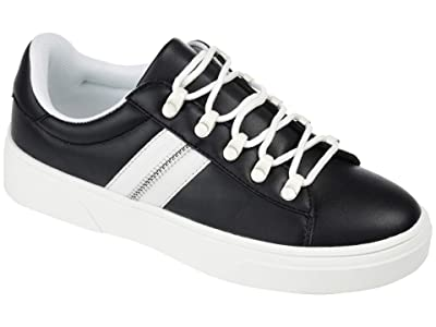 Journee Collection Comfort Foam Arden Sneaker (Black) Women