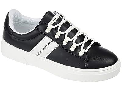 Journee Collection Comfort Foamtm Arden Sneaker (Black) Women