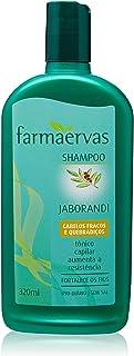 Shampoo Jaborandi, Farmaervas, Incolor, 320 Ml