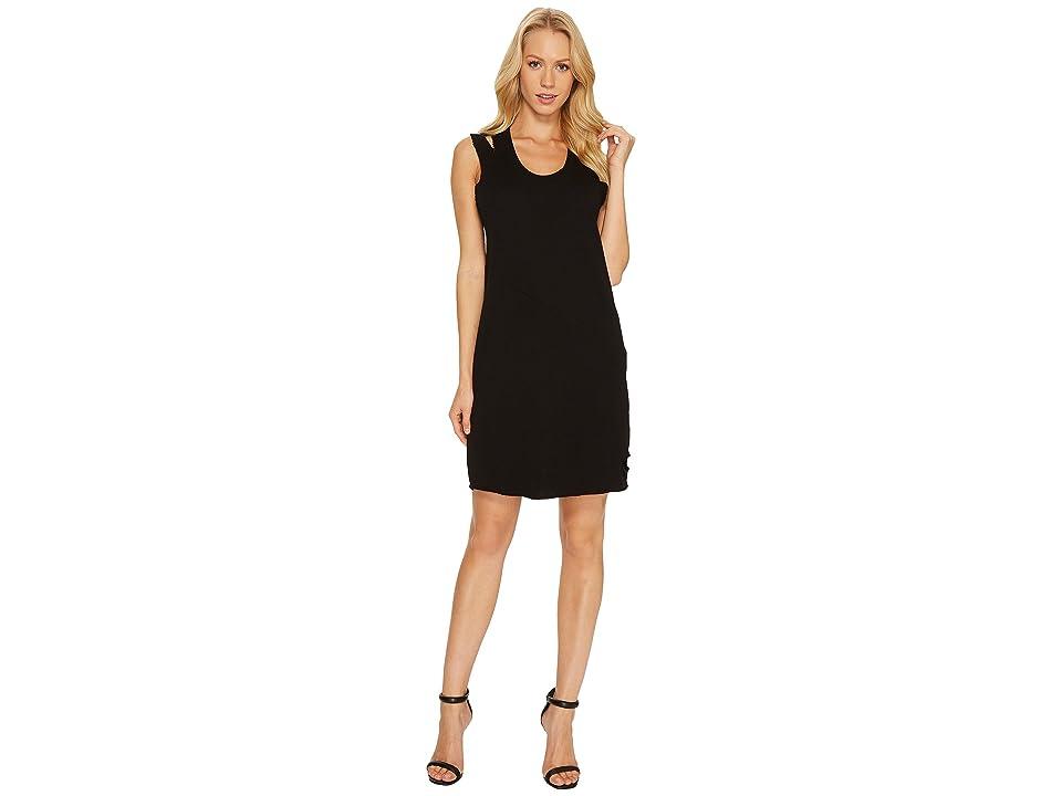 Lanston Cut Out Mini Dress (Black) Women