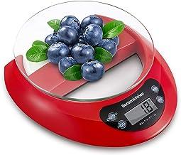 Bonsenkitchen Balance de Cuisine Numérique Balance Alimentaire Électronique de Haute Précision avec Fonction de Tare, Affi...