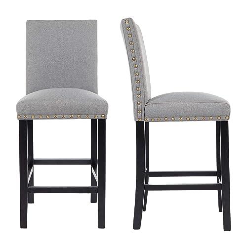 Sensational Upholstered Barstools Amazon Com Lamtechconsult Wood Chair Design Ideas Lamtechconsultcom