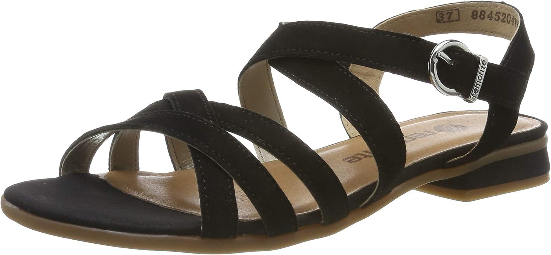 Remonte Women Sandals Black, (black) R9052-02