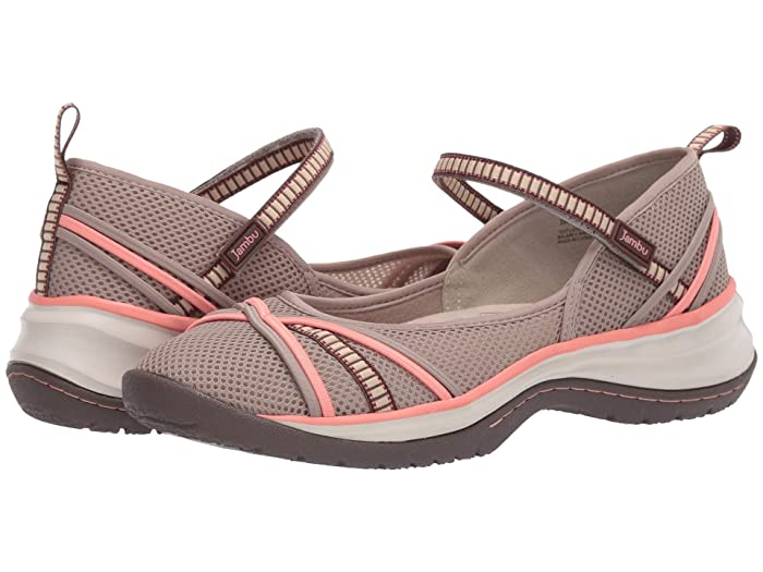Jambu  Mystic (Taupe/Coral) Womens Shoes