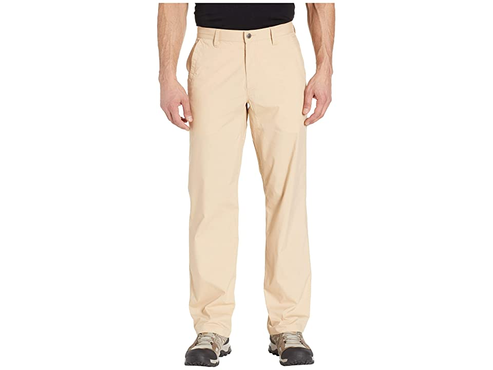 Mountain Khakis Stretch Poplin Pants Relaxed Fit (Khaki) Men