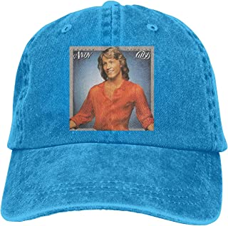 DoohcwBDJ Unisex Andy Gibb Shadow Dancing Casual Baseball Cap Adjustable Soft Trucker Hat Black