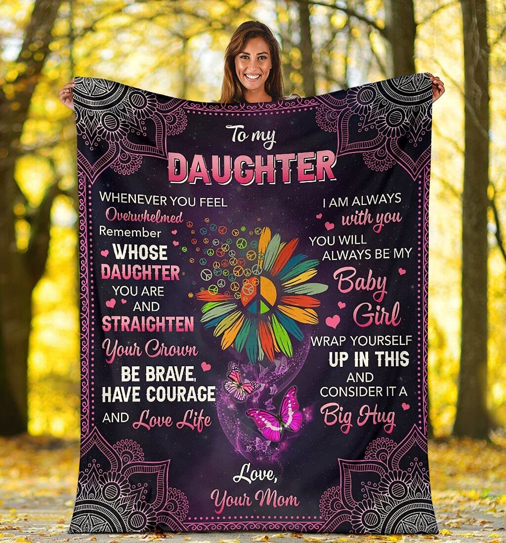 Personalized to My Daughter Always Be trust New color Hi from Girl Little Mom