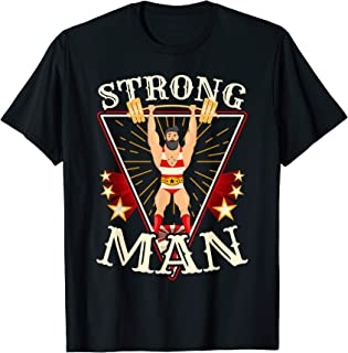 Circus Shirt - Vintage Circus Strongman Costume T-Shirt
