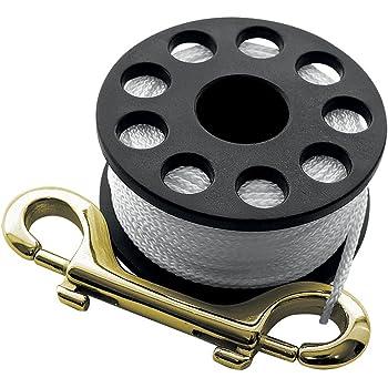 Seac 1110043 Carrete Spool Unisex Adulto L Negro
