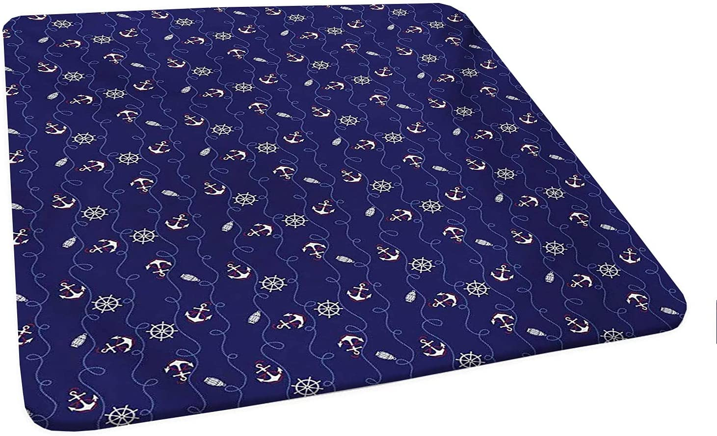 Square Ranking TOP6 Anchor Tablecloth l Composition Helm with Soldering Rop and Curved