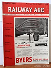 Railway Age Magazine March 8 1954 : Wabash Speeds Yard Move, Cotton Belt Breaks Ground