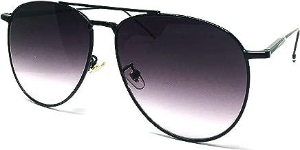 O2 Eyewear 97025 Premium Oversized Flat Aviator Mirrored Sunglass Womens Mens