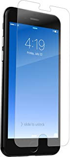 ZAGG InvisibleShield Glass+ Screen Protector - Fits iPhone 8 Plus, iPhone 7 Plus, iPhone 6s Plus, iPhone 6 Plus - Extreme Impact & Scratch Protection - Easy to Apply - Seamless Touch Sensitivity