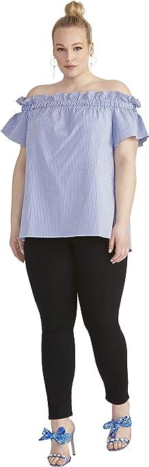 RACHEL Rachel Roy Women's Plus Size Erla Off The Shoulder Top