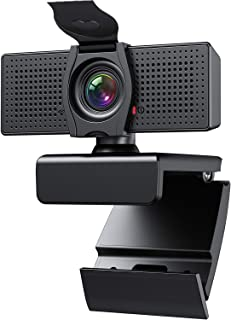 Webcam with Microphone Webcams Privacy Cover hd 1080p for Gaming conferencing Meeting Laptop Desktop Zoom, USB Computer Ca...