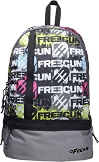 F Gear Burner P1 19 Ltrs Grey Casual Backpack (1960)