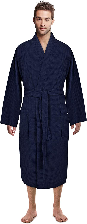 Premium Turkish Challenge the lowest price of Japan Cotton Waffle Direct stock discount Weave Bathr Lightweight Spa Kimono