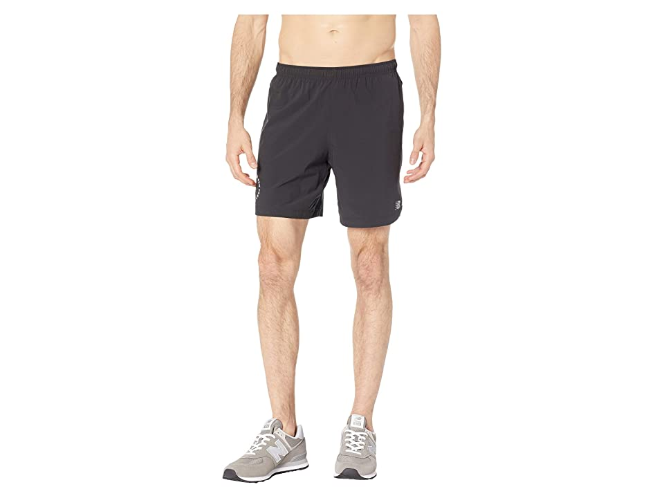 New Balance NYCM 7 Impact Shorts (Black) Men