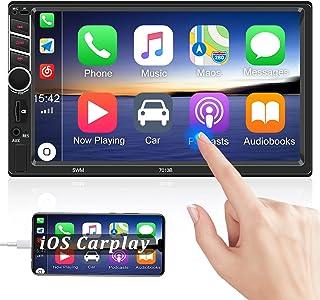 $65 » Multifunction 7 Inch Double Din CarPlay Car Stereo Radio Receiver HD Touchscreen Bluetooth FM Radio for car Digital MP5 Pl...