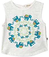 Appaman Kids - Samet Tank - Elephant Trail (Toddler/Little Kids/Big Kids)