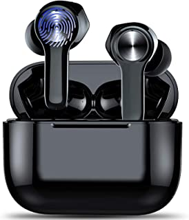 Wireless Earbuds, Bluetooth 5.0 Earbuds, Noise CancelingHeadphones, Smart Touch Control Wireless Headphones with Hi-Fi St...