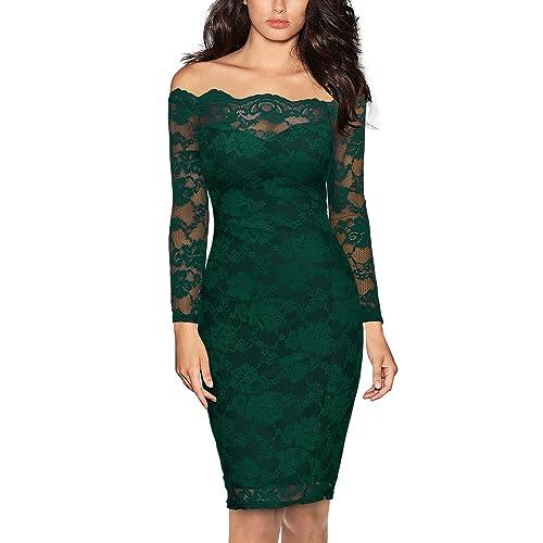 Green Lace Dresses