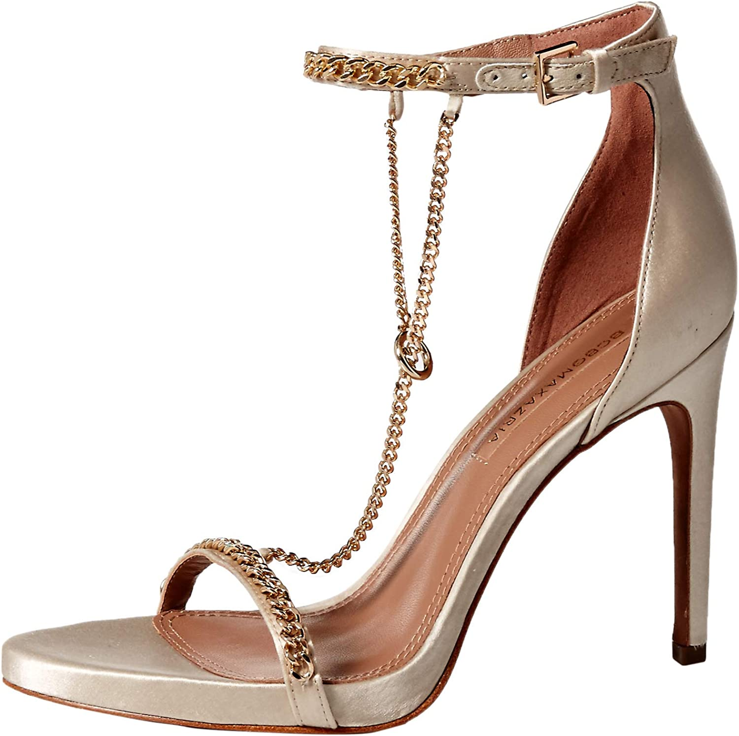 BCBGMAXAZRIA Womens Ella Dress Sandal Heeled Sandal